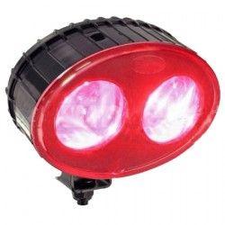Faros y espejos de seguridad--Faro de Seguridad para Carretillas Rojo