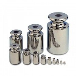 Set of M2 Chrome Steel Weights