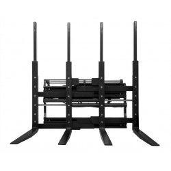 Sobre tablero: volteadores, pinzas,…--Multiposicionador de horquillas para carretilla elevadora