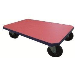 Plataforma simple con ruedas