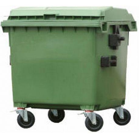 Bidones de plástico y chapa--Cubos de basura 800L.