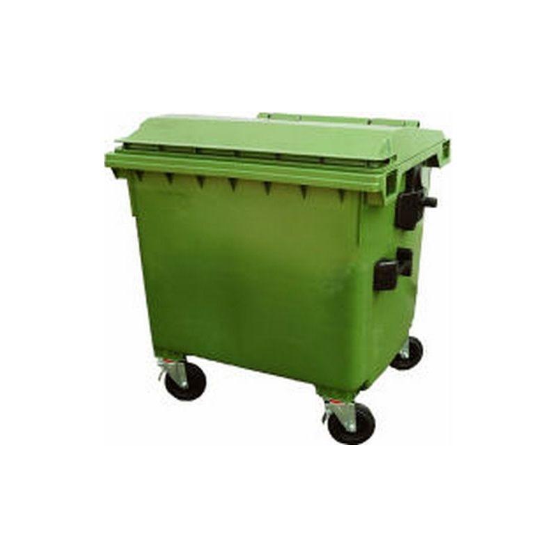 Cubos de basura 1000l tymbia solutions sl - Cubos de basura industriales ...
