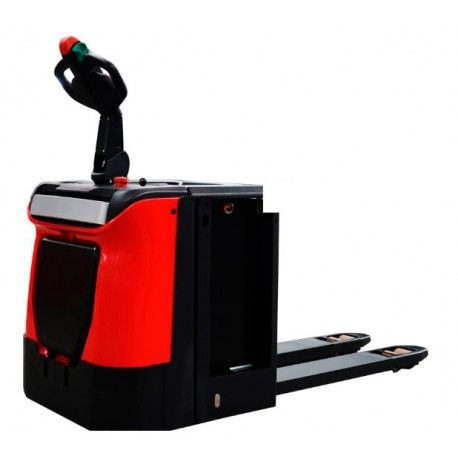 Electric pallet truck 2,000 Kg with mast lift