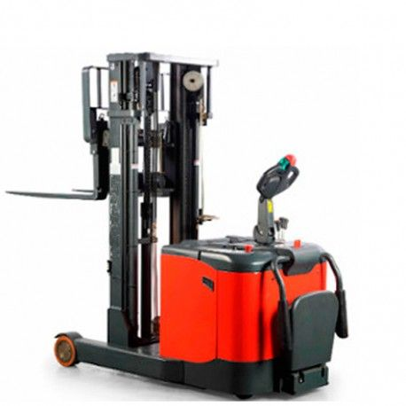 Electric stacker 1600 Kg with platform and arms