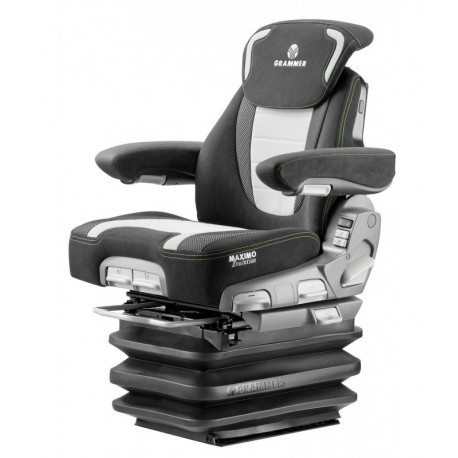 Grammer Maximum Dynamic Plus seat for agricultural machinery