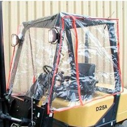 Offer pack forklift seat + Rain Protector STD