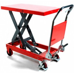 Manual lifting table 500 Kg to 880 mm