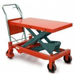 Mesas Manuales--Mesa Elevadora 750kg a 990mm
