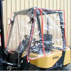 Protectores para carretilla-TYMBIA-Protector de lluvia 1143x1372mm (Estándar)