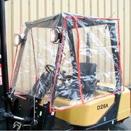 Protectores para carretilla--Protector de lluvia 1143x1372mm (Estándar)