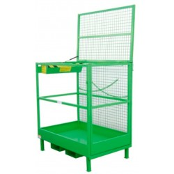 Sub-Person Cage for Stacker