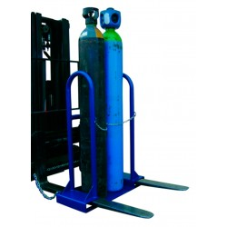 Implement to Load 2 Welding Bottles