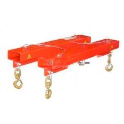 Ganchos para manipular baterías y cargas pesadas