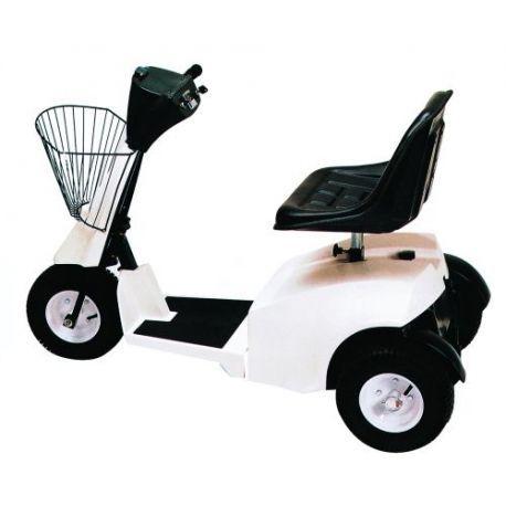Arrastre de cargas--Vehículo eléctrico 300 Kg conductor sentado.