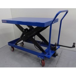Lifting table 1500kg to 1000mm (removable handle)