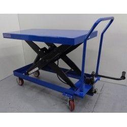 Mesas Manuales--Mesa Elevadora 1500kg a 1000mm (asa desmontable)