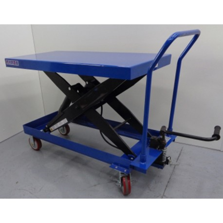 Mesas Manuales--Mesa Elevadora Manual 1500kg a 1000mm (asa desmontable)