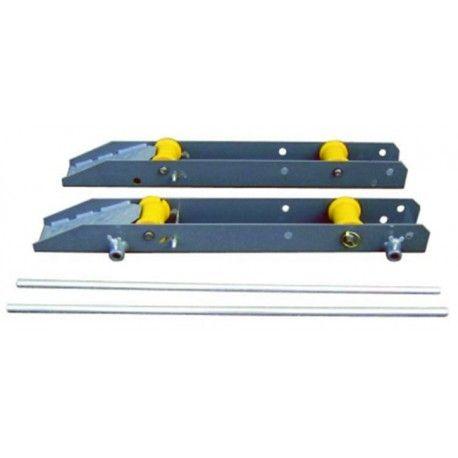 Protecciones industriales--Pareja de patines para bobinas 3.000 Kg