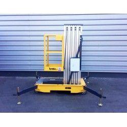 Plataformas Elevadoras Subepersonas--Plataforma Elevadora 12m-130kg