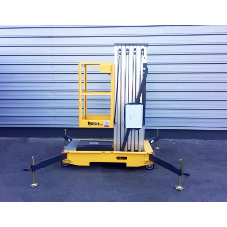 Plataformas--Plataforma Elevadora 12m-130kg