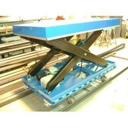 Mesa con traslacion y elevación eléctrica -Base super