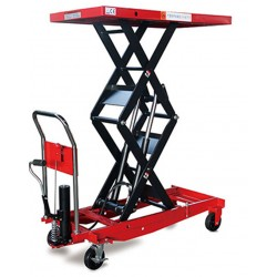 Mesas Manuales-TYMBIA-Mesa Elevadora Manual 1000kg a 1700mm