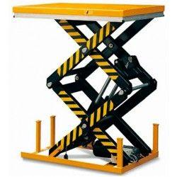 Mesas Eléctricas-Tymbia Solutions-Mesa Elevadora Eléctrica 1000kg a 1780mm de 1300x820mm (doble tijera)
