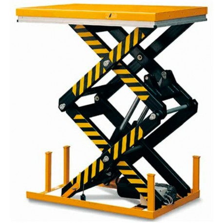 Mesas Eléctricas--Mesa elevadora 1000kg a 1780mm (doble tijera)