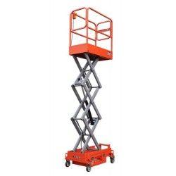 Plataformas--Plataforma Elevadora de Tijera 3m-300kg