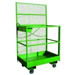 Sub-Person Cage with Wheelbarrow Wheels
