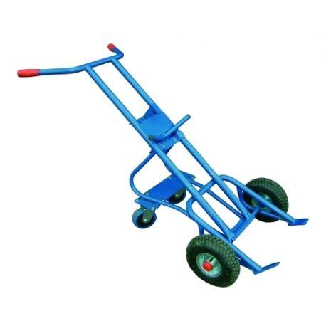 Carros manuales y eléctricos--Carro de bidones (4 ruedas)