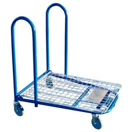 Supermercados y almacenes--Plataforma encajable malla