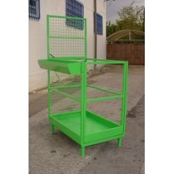 Subpersonnel Cage for Side Nail Entry Stacker