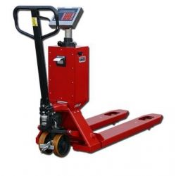 Pallet truck loads 2000kg with printer