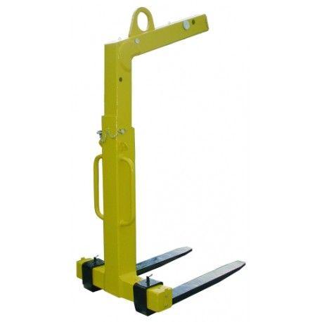Portapalets--Portapalet uñas móviles 3.000 kg
