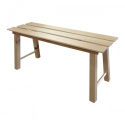 Simple Wooden Benches