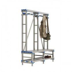 PVC Wall Bench for Wardrobe
