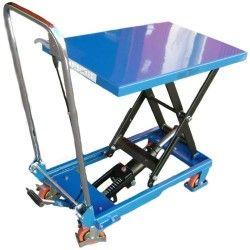 Table élévatrice manuelle 150kg à 720mm