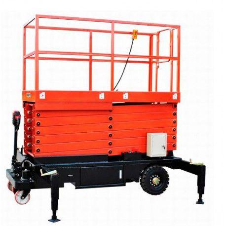 Plataformas--Plataforma Elevadora de Tijera 9m-500kg