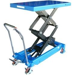 Table élévatrice manuelle 800kg à 1500mm