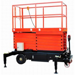 Plataformas Elevadoras Subepersonas--Plataforma Elevadora de Tijera 11m-500kg