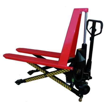 Electric scissor pallet truck 1500kg 1170x540mm