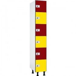 6 Doors Phenolic Lockers