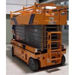 Plataformas--Plataforma Elevadora 12m-320kg (extensible)