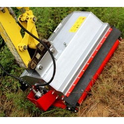 Desbrozadoras y Trituradoras--Trituradora de Martillo Miniexcavadora y Minicargadora
