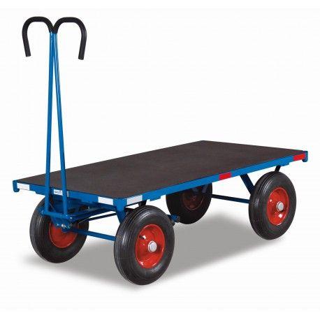 Plataformas Rodantes-- Plataforma Rodante con Mango Abatible 1250kg