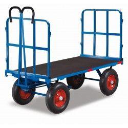 Plataforma Rodante con Barandillas 1250kg