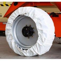 Ruedas macizas--Kit de fundas protectoras para ruedas