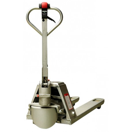 Transpaletas inox y galvanizadas-TYMBIA-Transpaleta Semi-Eléctrica Inox 1500kg