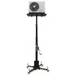 Apiladores Manuales--Elevador Manual 125kg a 4560mm (con ruedas)
